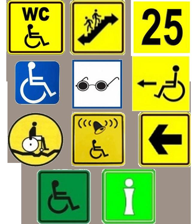 Информационные таблички в картинках